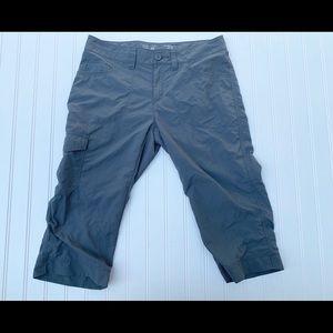 Mountain Hardware Gray Miranda Capri Pants  8